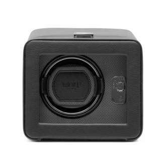 "Wolf Single Watch Winder with Cover ""Windsor"""