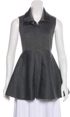Donna Karan Sleeveless Zip-Up Tunic w/ Tags