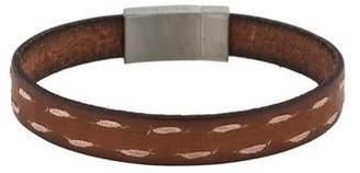 Tateossian Stitched Leatherbr Bracelet
