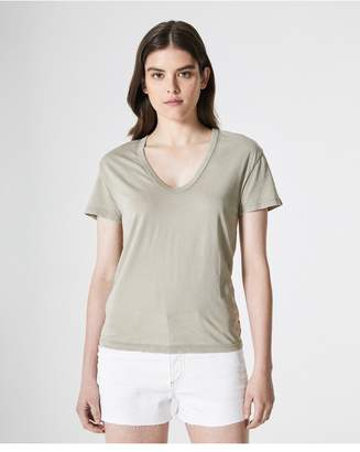 AG Jeans The Henson Tee - Sunbaked Dried Patchouli