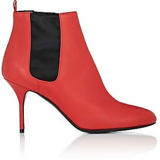 Pierre Hardy Women's Jo Leather Ankle Boots - Red
