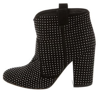Laurence Dacade Embellished Ankle Boots $375 thestylecure.com