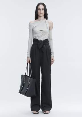 Alexander Wang BUSTIER RUCHED TOP