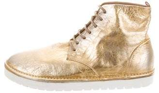 Marsèll Metallic Ankle Boots