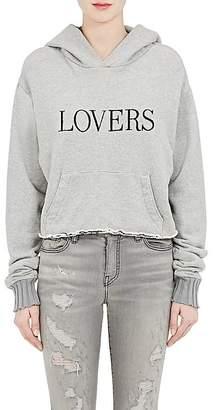 "Amiri Women's ""Lovers"" Cotton Hoodie"