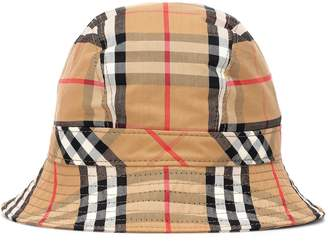 Burberry Vintage Check cotton bucket hat