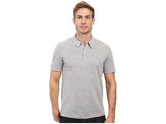 Lacoste Short Sleeve Mercerized Pique Polo w/ Tonal Embroid Croc Men's Short Sleeve Pullover