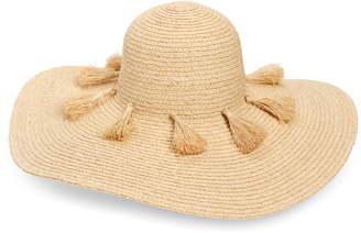 Nordstrom Tassel Floppy Straw Hat