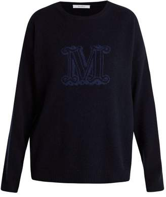 Max Mara Ferito Sweater - Womens - Navy