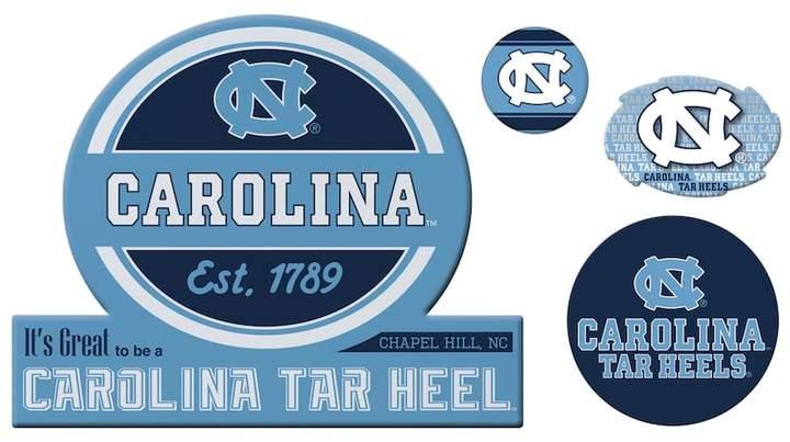NCAA North Carolina Tar Heels Game Day 4-Piece Magnet Set