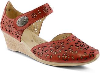 Spring Step Nougat Wedge Sandals