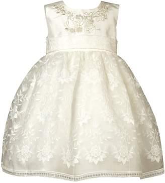 Heritage Krista Antique White Sleeveless Dress