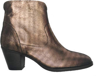 Esska Rose Metallic Maddy Ankle Boot - 37 - Gold