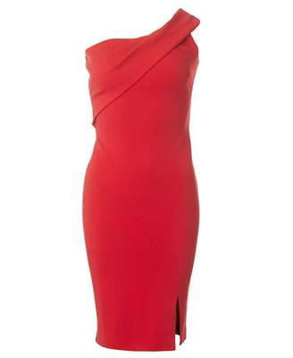 Ted Baker One Shoulder Body Con Dress