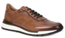 Bruno Magli Davio Polished Leather Sneakers