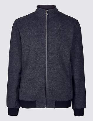 "Marks and Spencer Funnel Neck Fleece Jacket with Stormwearâ""¢"