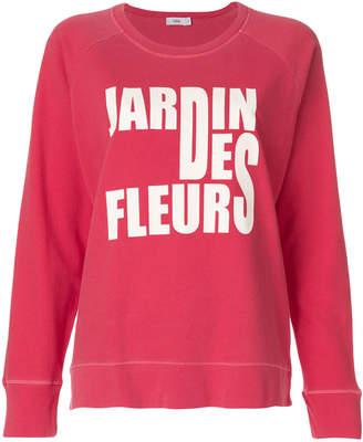 Closed Jardin des Fleurs sweatshirt