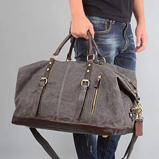 538c655792 EAZO Waxed Classic Travel Holdall Bag Personalised