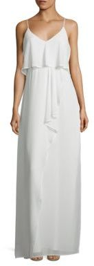 Laundry by Shelli Segal Popover Chiffon Gown $195 thestylecure.com