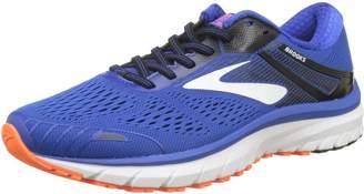 Brooks Men's Adrenaline GTS 18 2E Running Shoe (BRK-110271 2E 3934660 8.5 Gry/BLU/BLK)