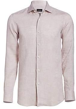 Ermenegildo Zegna Men's Button-Down Shirt