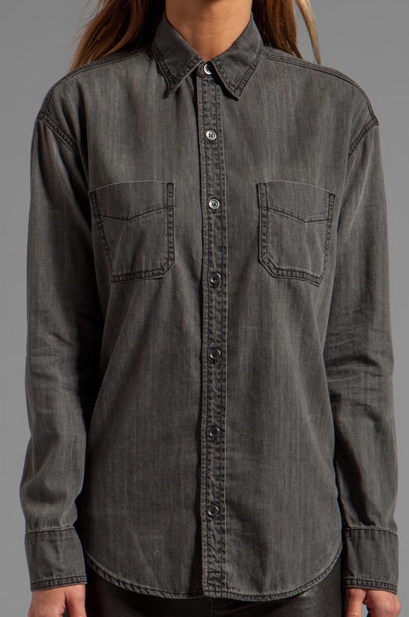 J Brand Boyfriend Marlow Shirt