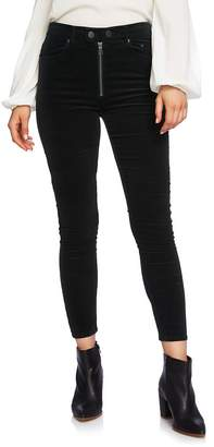 1 STATE 1.STATE Five-Pocket Pinwale Corduroy Ankle Skinny Pants