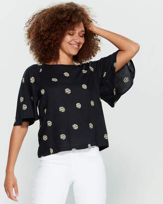 Emily And Fin Suzanna Printed Blouse