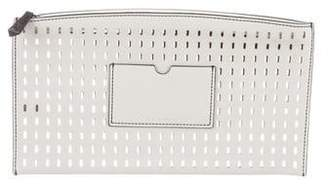 Reed Krakoff Perforated Leather Clutch