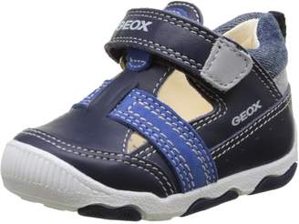 Geox Kids B New BALU' Boy First Walker Shoes, Navy/Royal