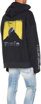 Rhude Moonlight Logo Hoodie in Yellow & White | FWRD