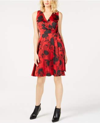 INC International Concepts I.n.c. Floral-Print Tie-Waist Dress