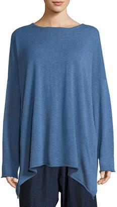 eskandar Long A-Line Cashmere Sweater