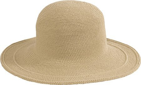 San Diego Hat Company San Diego Hat Women's Cotton Crochet 4 Inch Brim Floppy Hat