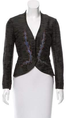 Nina Ricci Mélange Embellished Blazer