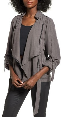 Women's Blanknyc Roll Sleeve Drape Jacket $98 thestylecure.com