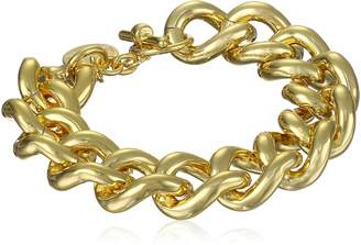 "Michael Kors 1AR by UnoAerre 18k -Plated Groumette Chain Link Bracelet, 8.5"""