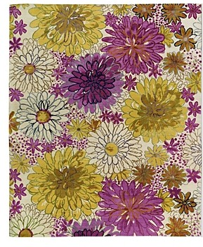 Tufenkian Artisan Carpets Bouquet Spring Floral Collection Area Rug, 10' x 14'
