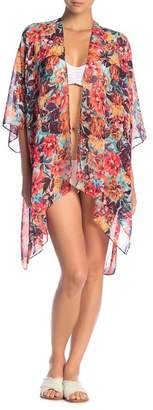 Body Glove Aubree Printed Caftan Cover-Up