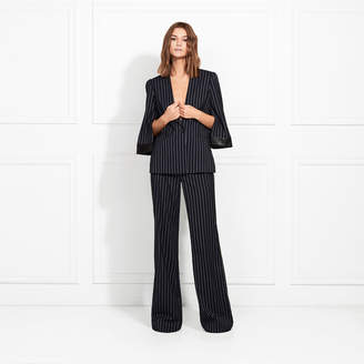 Rachel Zoe Lina Marais Striped Suiting Blazer