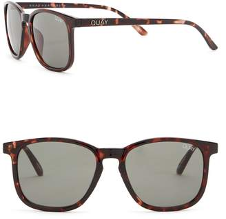 Quay Men's The Oxford 44mm Square Sunglasses