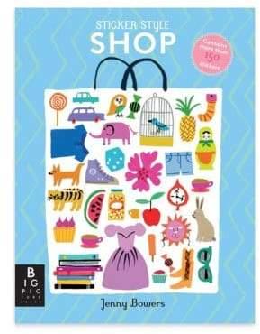 Penguin Random House Shop Themed Stickers Activity Book