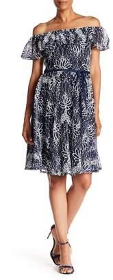 Taylor Off-the-Shoulder Lace Dress