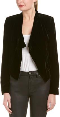 BCBGMAXAZRIA Lloyd Silk-Blend Jacket