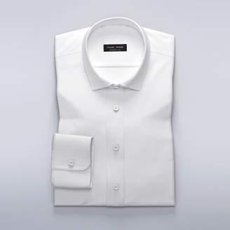 Business shirt in white dobby