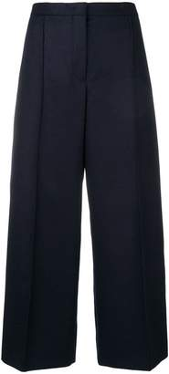 Jil Sander cropped wide-leg trousers
