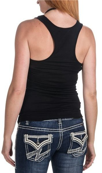 Rock & Roll Cowgirl Sparkle Tank Top (For Women)