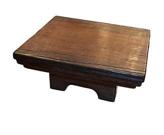 Dacor Andrianna Shamaris Antique Tray Table