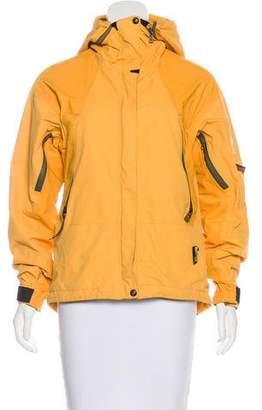 Rossginol Hooded Zip-Up Jacket