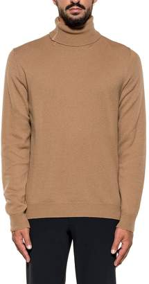 Mauro Grifoni Tobacco Wool Pullover